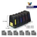 Sistema de suministro de tinta se adapte hermano DCP-J172W