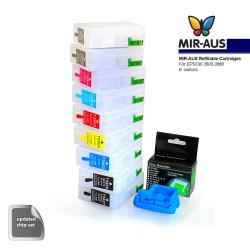 Refillable cartridges for Epson 3880