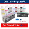 דיו במיוחד עבור מדפסות עיצוב רחב 1set + 8 x 1 ליטר