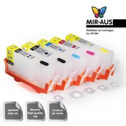 Refillable ink cartridge HP 564 5 cartridges