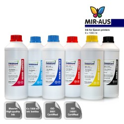 1 Litre 6 colours refill Ink for epson printers
