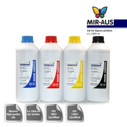 1 Litre 4 colours refill dye Ink for epson printers