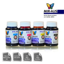 120 ml 4 Colour Dye ink for Epson printers