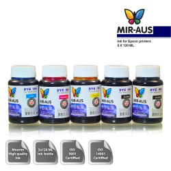 120 ml 5 Colour Dye ink for Epson printers