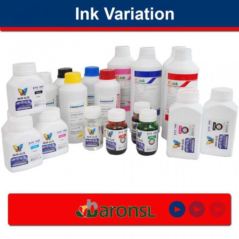 Luz de 100 ML tinta de pigmento cian