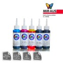 100 ml 5 colours dye/pigment ink for Canon 650-651