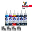 100 ml 6 colours dye/pigment ink for Canon CLI-526