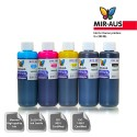 250 ml 5 colours dye/pigment ink for Canon CLI-8