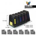 CISS עבור HP Photosmart D7360 7360 HP02 פליי-s55 2008