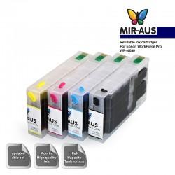 Färben Sie nachfüllbare Tintenpatronen für Epson WorkForce Pro WP-4090