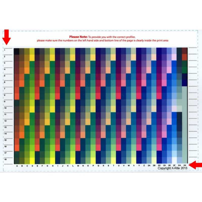 Perfil de impressora ICC personalizados - RGB