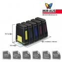 Sistema di rifornimento continuo dell'inchiostro  CISS per canon MP590
