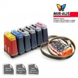Sistema di alimentazione - Ciss per Canon MG8250, MG 8250 dell'inchiostro
