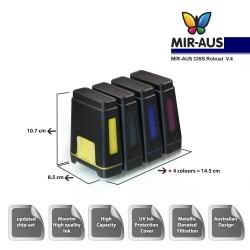 Sistema de suministro de tinta de Epson Stylus NX635