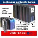CISS PER CANON MP700 FLY-V. 3