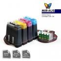 Sistema de suministro de tinta | CISS para Epson WorkForce 325 133 FLY-V.3