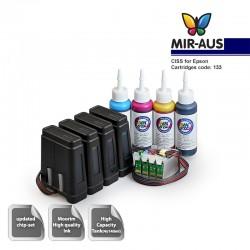 Ink Supply System   Ciss für Epson WorkForce 325 133 FLY-v. 3