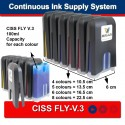 CISS FOR CANON IP6000D i900D i905D I9100