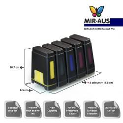 Kontinuierliche Farbversorgung für Epson Expression Premium XP-610