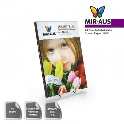 A4 140G Double-sided Matte Coated Paper 80 sheets