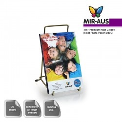 102x152mm 240 G alta brillante Inkjet papel fotográfico Premium