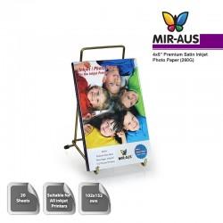 102x152mm 260 G Premium сатин струйных фотобумага