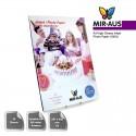 A3 180 G hög glättat fotopapper för bläckstråleskrivare