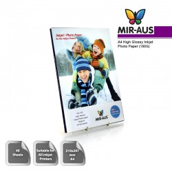 A4 150g alta Glossy Inkjet Photo Paper