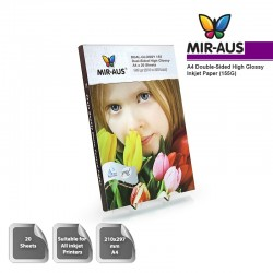 A4 155G Double-sided High Glossy Inkjet Paper