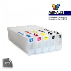Cartuchos de tinta recargables para Epson SureColor SC-T7000