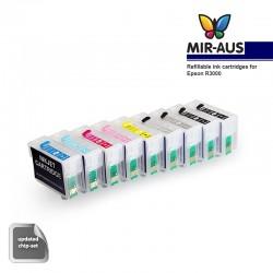 Uso cartuccia inchiostro ricaricabile per EPSON R3000