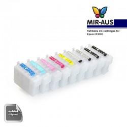 Refillable tinta kartrid digunakan untuk EPSON R3000