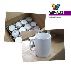 Tasse blanche en céramique