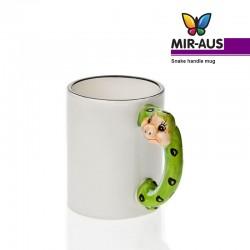 Snake handle mug