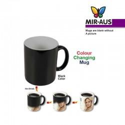 Black Colour changing mug