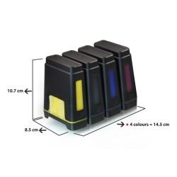 Leere CISS Epson für 4 Farbe