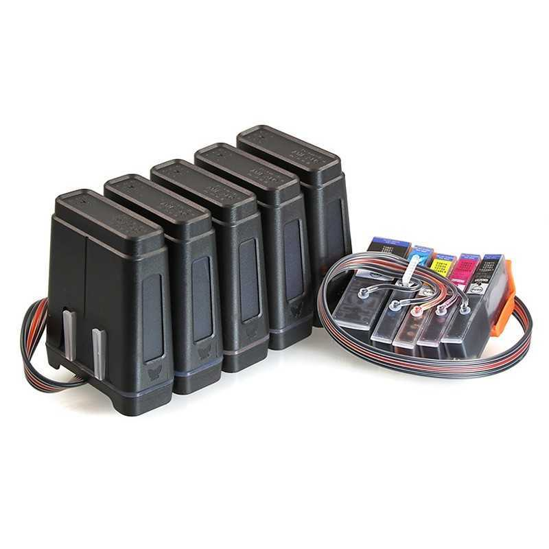Kontinuerlig bläck försörjningssystem för Epson Expression Premium XP-700