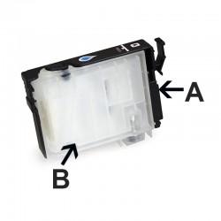 Cartuccia d'inchiostro ricaricabile per EPSON 1410 (A + B)
