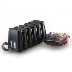 Kontinuerlig bläck försörjningssystem CISS passar Epson Expression foto XP-850 850