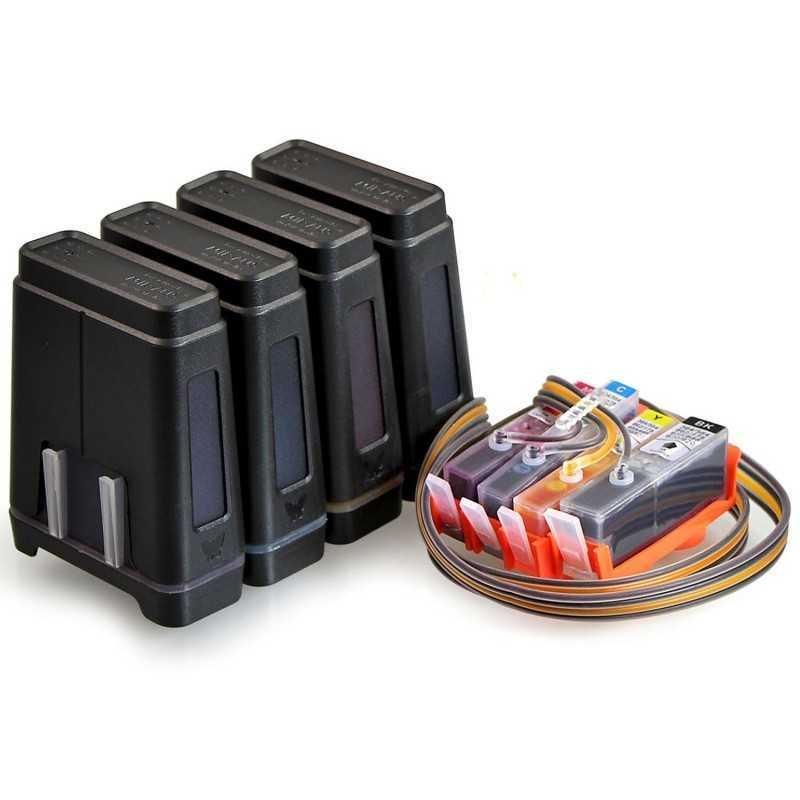 CISS untuk HP Photosmart B109 (a, c, d, f, n atau q) TERBANG-V.3