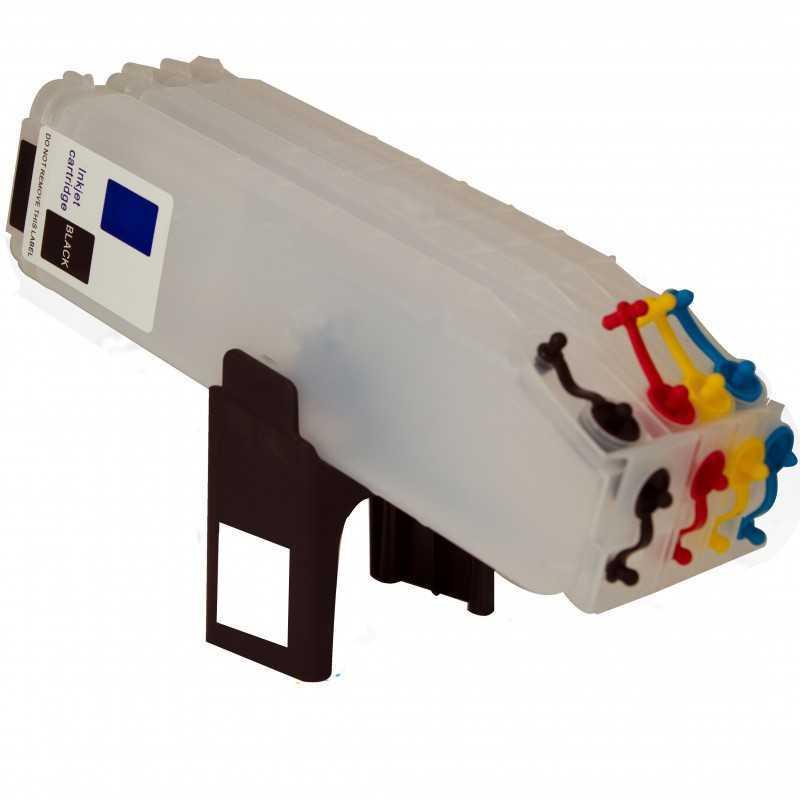 Nachfüllbar Tintenpatrone für HP PRO 8500
