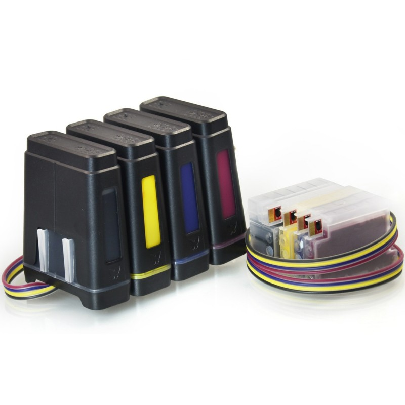 Trajes De Ciss Hp Pro 8600 8100 Sistema De Tinta