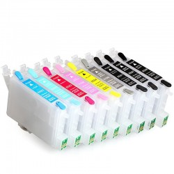 Refillable cartridge untuk EPSON R2400