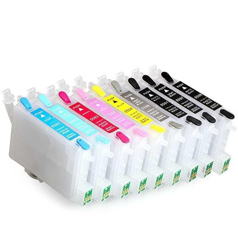 Til genopfyldning blækpatroner til EPSON R2400