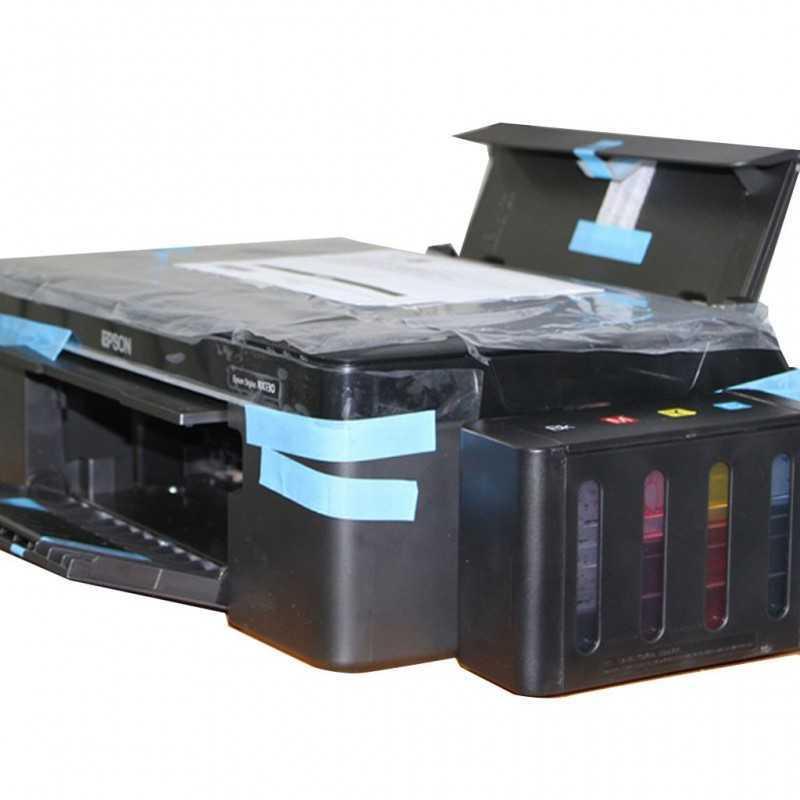 Включает в себя принтер с система подачи чернил, СНПЧ