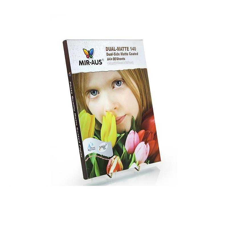 Feuilles 140G recto-verso Matte Coated Paper 80 a4