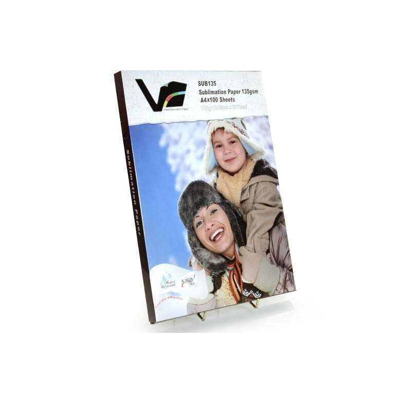 Visuel Innovation Sublimation papir A4 størrelse - 100 ark