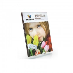 A4 140G Double-sided Matte Coated Inkjet Paper