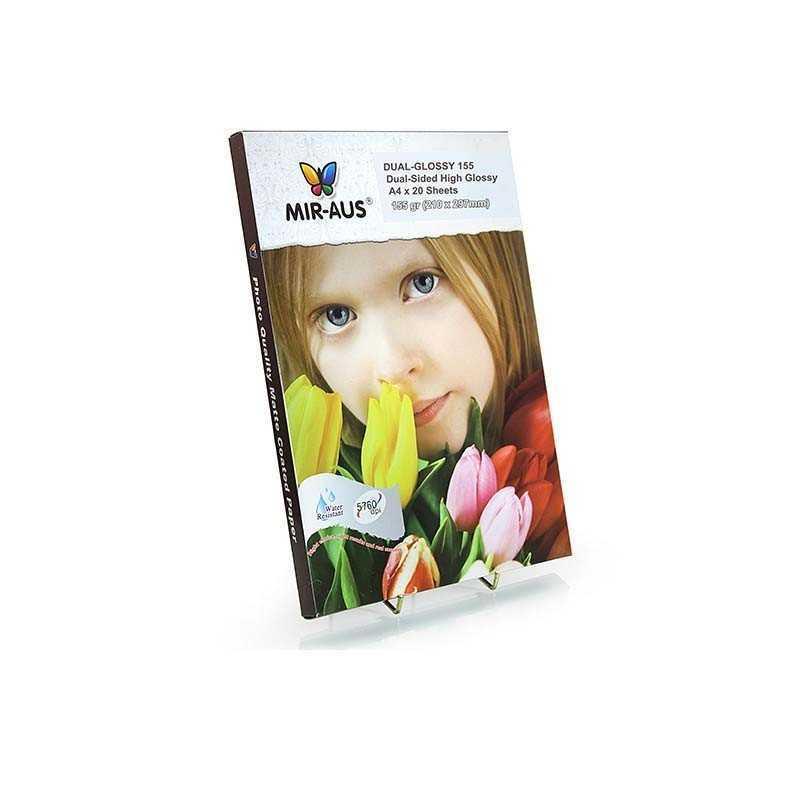 A4 155 G dobbeltsidet høj Glossy Inkjet papir