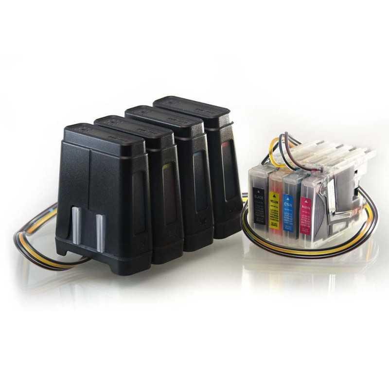 Sistema di alimentazione dell'inchiostro - CISS si addice Brother DCP-J525W